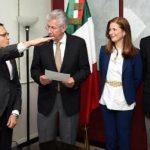EDGAR OLVERA RELEVA A ASPE EN SUBSECRETARÍA DE LA SCT