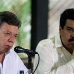 El bloqueo de un canal agudiza el choque entre Maduro y Santos
