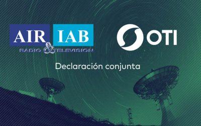 Declaración conjunta OTI – AIR