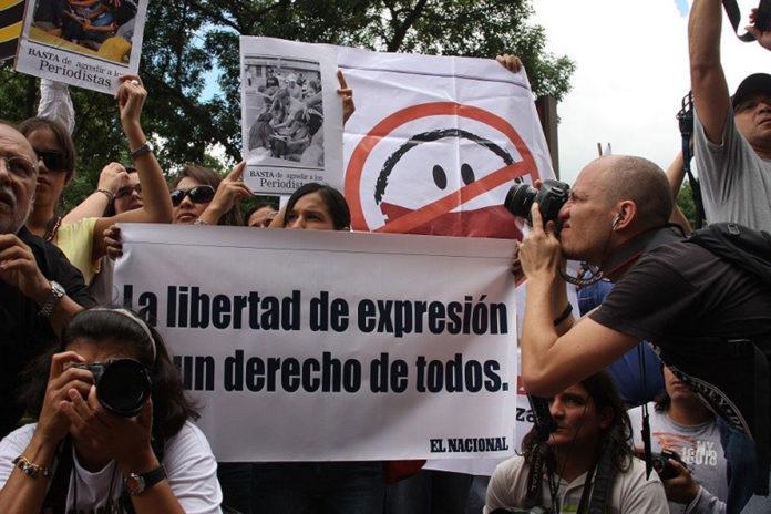 Venezuela el centro de los abusos contra periodistas y medios de comunicación